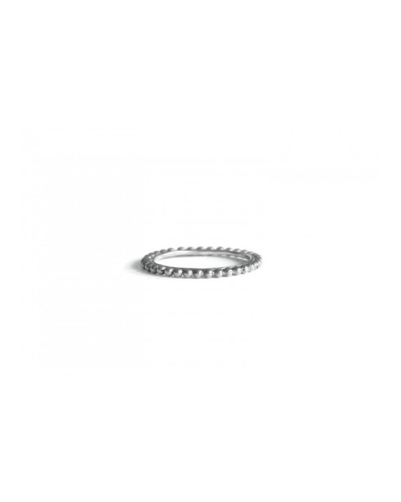 Pearls Ring - Silver