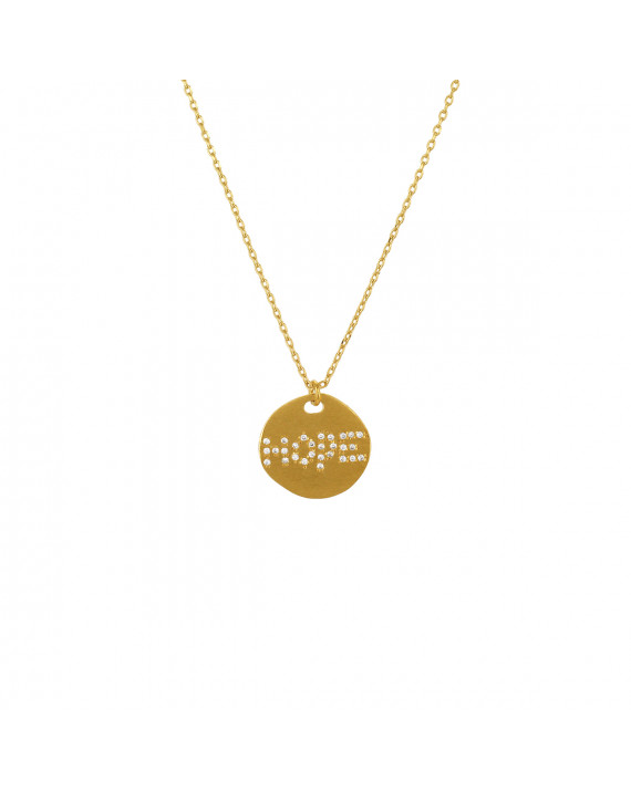necklace image circle rebekahgough product hope of