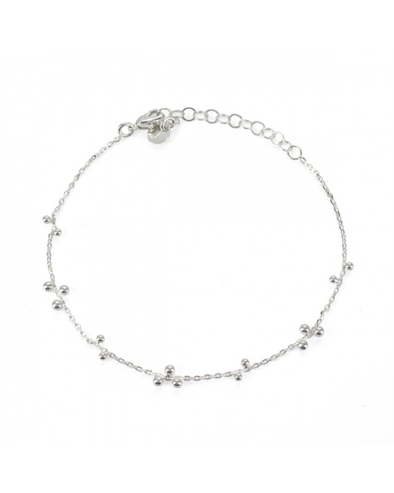 Bracelet Rosee - Silver plated