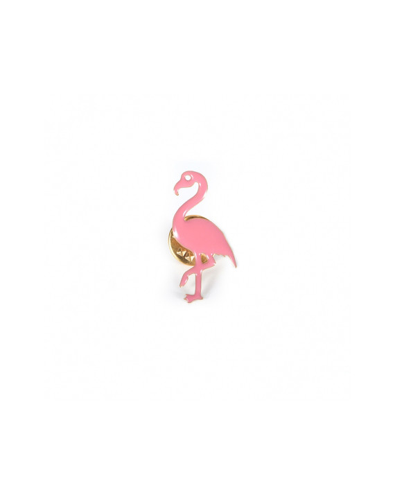 Pin's Clive - Flamant rose
