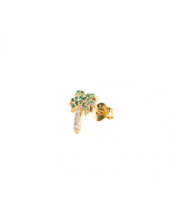 Boucle d'Oreille Palm Tree - Vermeil | I.Ma.Gi.N Jewels