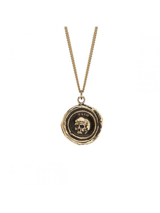 Collier Talisman Crâne - What Once Was