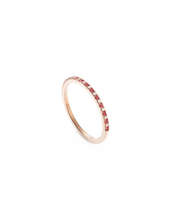 Bague Sanguine Moon - Or rose | Diamanti Per Tutti