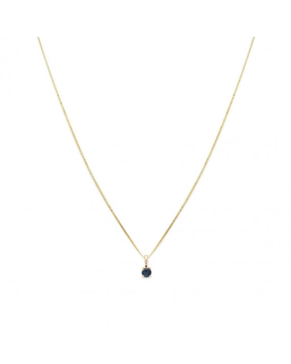 Collier Element - Septembre - Saphir
