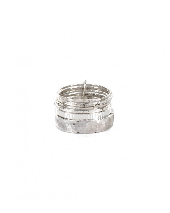 Super Monday Ring - Silver Gold Plated | Stalactite