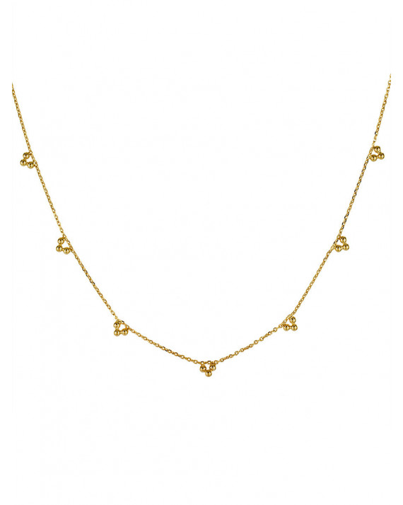 Aude Necklace - Gold plated | Stalactite