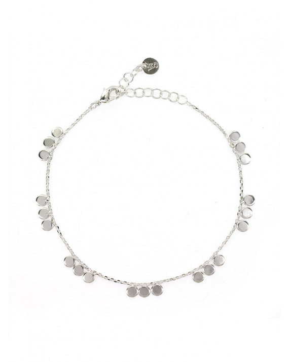 Justine Bracelet - Silver Plated | Stalactite