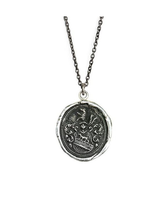 Heart of the Wolf Talisman Necklace | Pyrrha