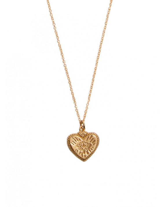 Heart Burst Charm Necklace   All The Luck In The World