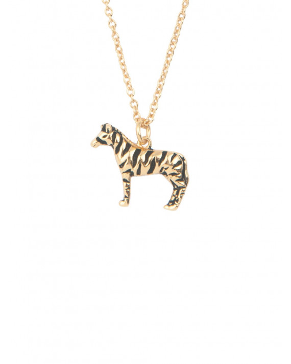 Souvenir Zebra Necklace | All The Luck In The World