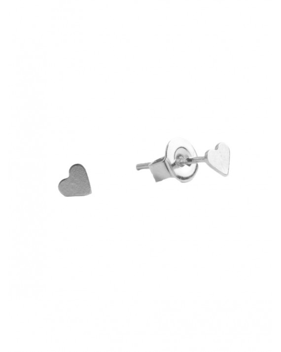 Heart Stud Earring   All The Luck In The World