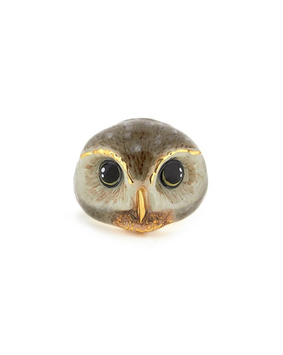 Happy Owl Ring | Good After Nine
