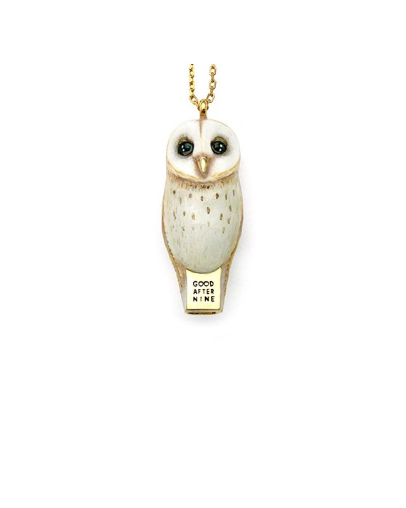 Lucky Owl Necklace | Good After Nine