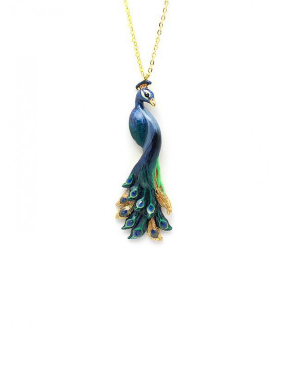 Peacock Necklace | Good After Nine