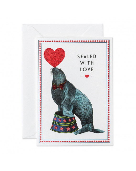 Sealed with love Greeting Card