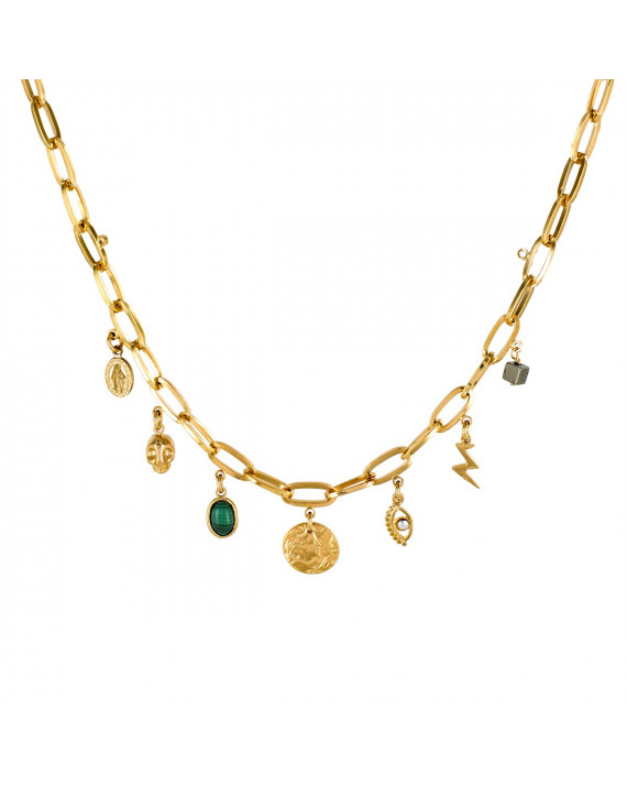 Treasure Necklace - Gold Plated | Stalactite