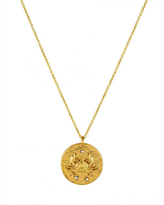 Cancer Necklace - Front | Astrodisiac