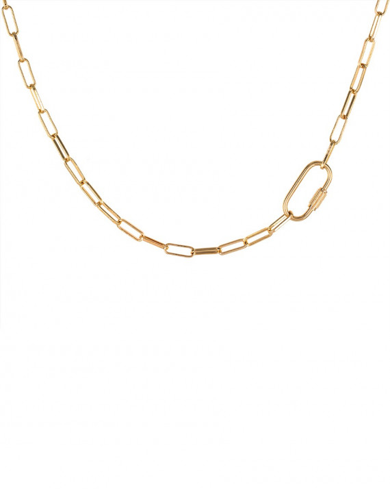 Link Necklace - The n°4 - Gold Plated | Tayl Bijoux
