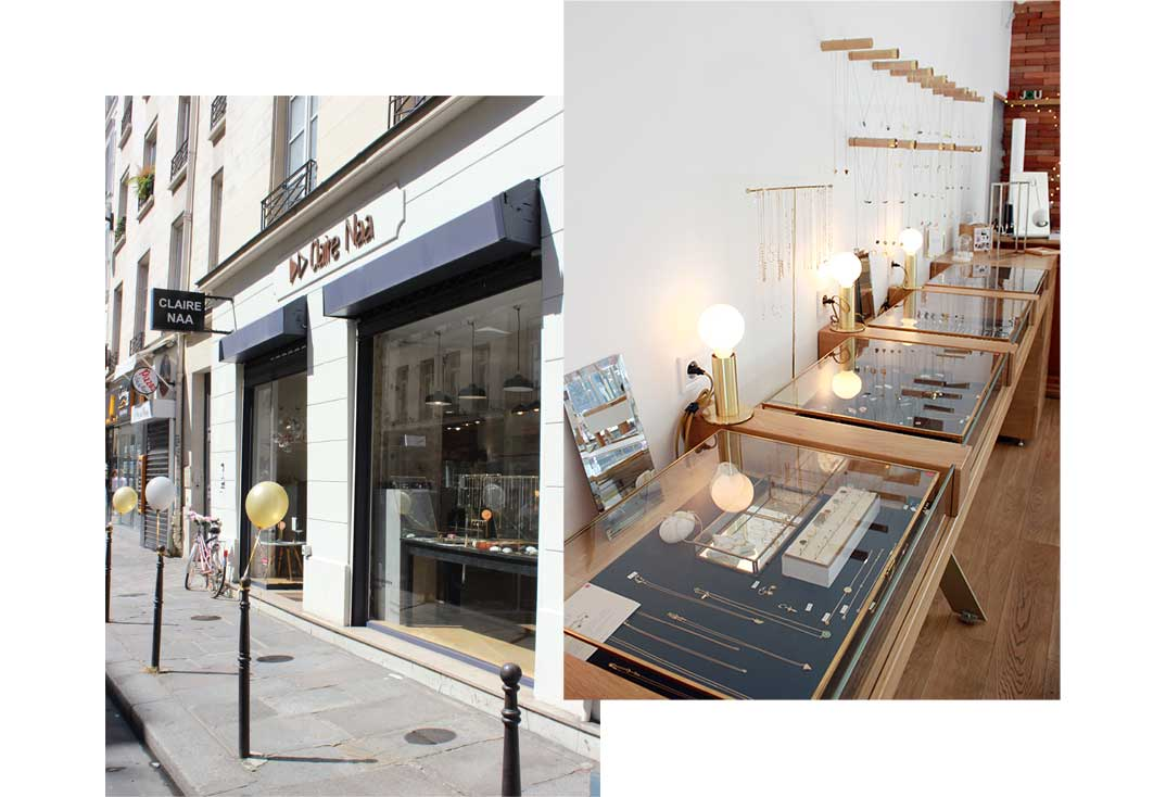boutique claire naa paris turenne