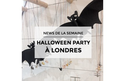 NEWS DE LA SEMAINE : Pictures of the Halloween Party at 58 Neal Street in London